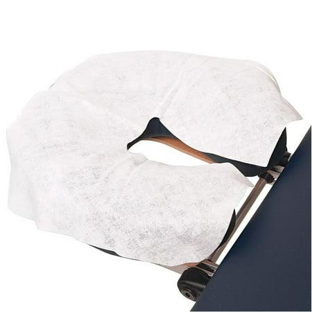 Moaere 100 Pcs Disposable Massage Table Face Rest Cushion Covers Headrest Cradle Sheets - image 8 de 9