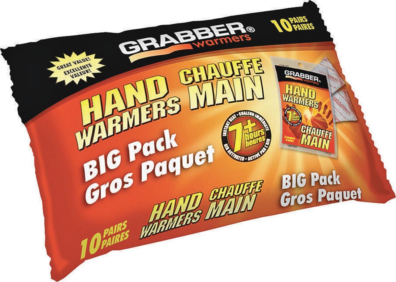 Grabber HWEF10 Hand Warmer, 7 hr, 135 Deg F by Grabber
