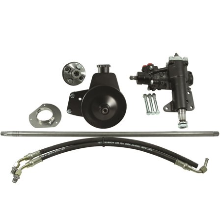 (Borgeson 999020 Power Steering Conversion Kit)