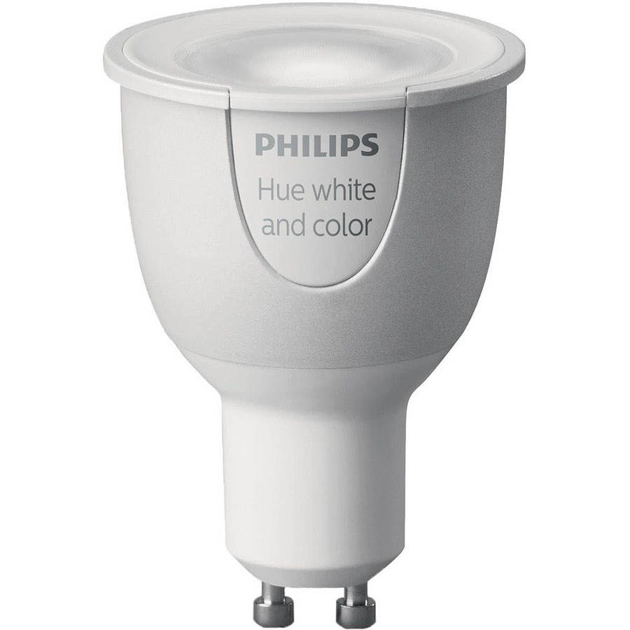 philips hue white and color ambiance gu10 led single bulb