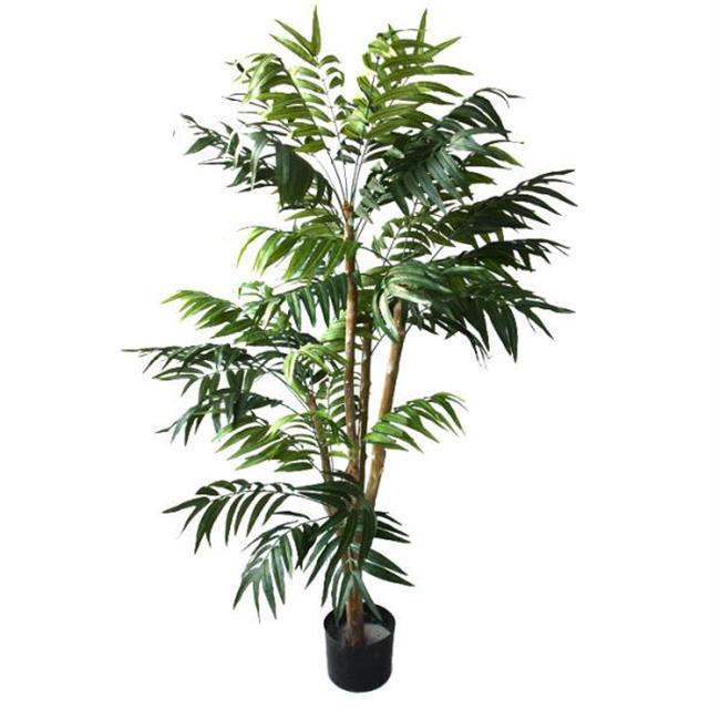 5 foot Julian Tropical Palm Artificial Tree