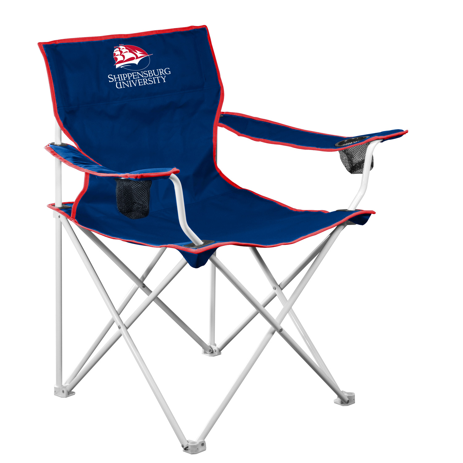 Shippensburg Raiders Official NCAA Deluxe Fold Out Tailgate Chair by Logo 314127