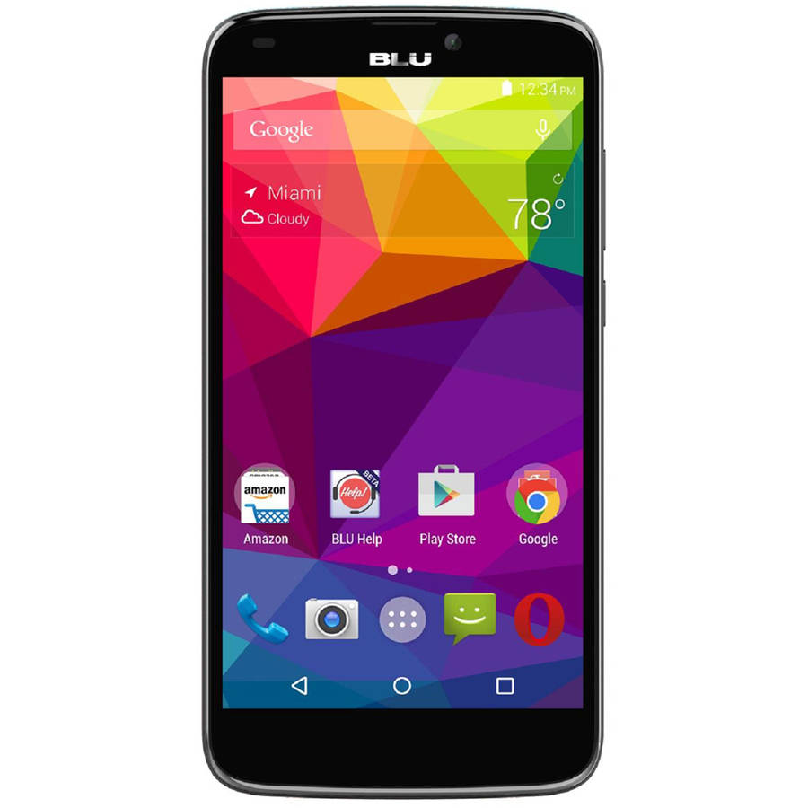 BLU Studio G Plus S510Q GSM Smartphone (Unlocked), Black