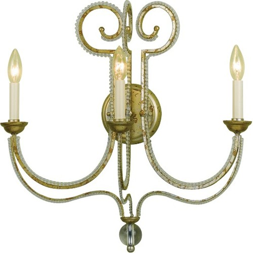 AF Lighting 6738 Three-Light Wall Sconce