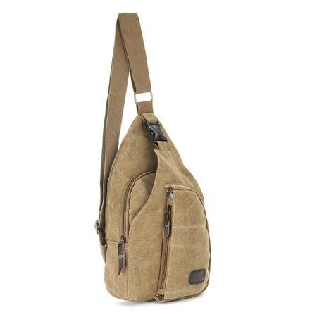 M.way Military Vintage Canvas Shoulder Messenger Bag Satchel bag Military Shoulder  Laptop Bags Bookbag Working Bag for Men and Women Travel Hiking Sport ... f4331e0f4