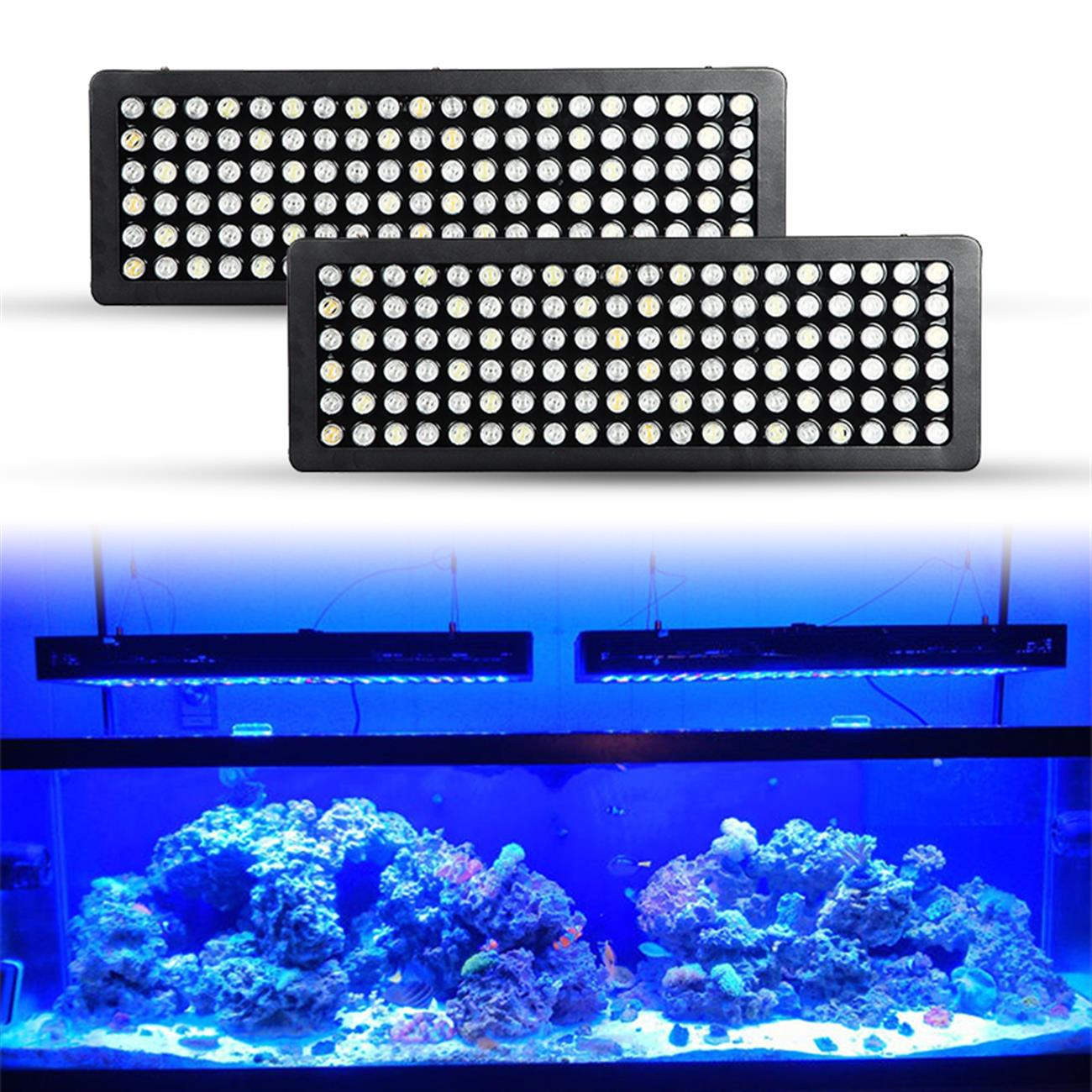 Aquarium Light Strip, BEAMNOVA 360W Multi-Color LED Aquarium Light Bar Dimmable Full Spectrum Lamps with... by