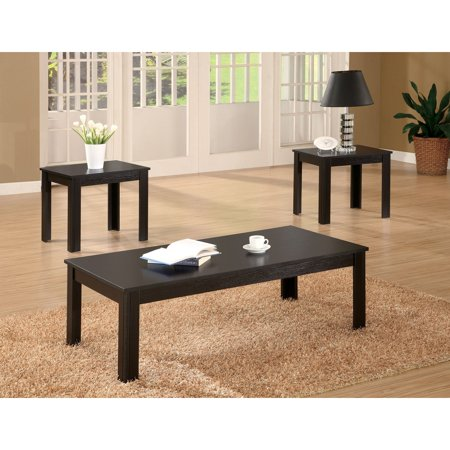 Coaster Furniture 3 Piece Coffee Table Set