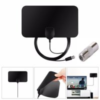 Antenna Digital HDTV Amplified Mile Ultra Thin Indoor Flat Design Hot Booster Active Indoor 1080P 4K