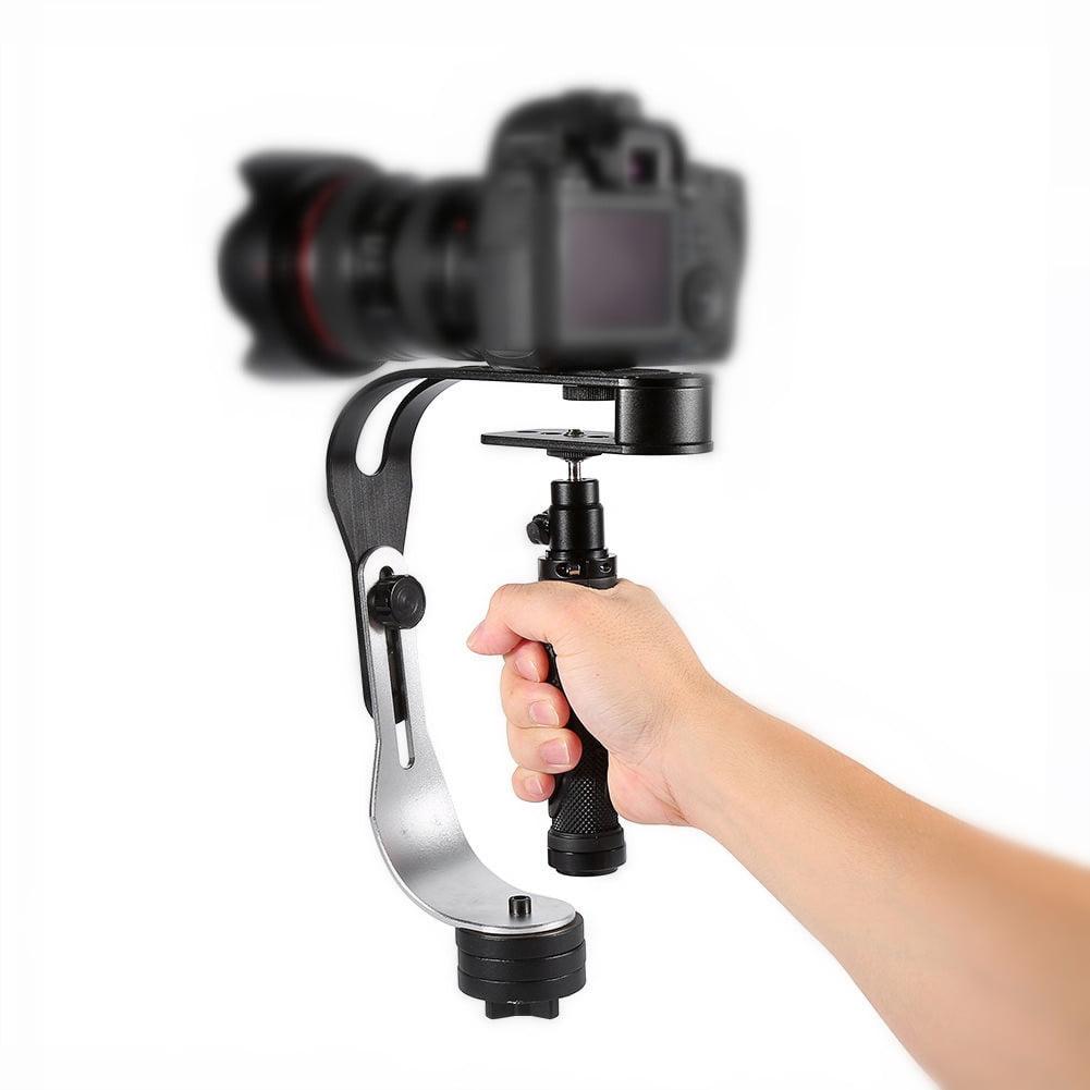 Yosoo Video Camera Handheld Stabilizer Steady Aluminum Alloy for GoPro, Smartphone, Canon, Nikon or any camera