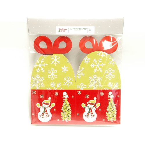 Snowman Small Folded Box