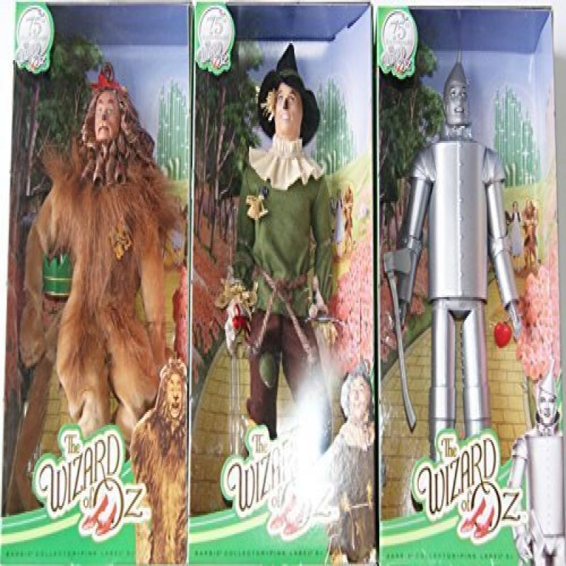 Mattel Barbie Collectible Wizard of Oz Doll Set - Scarecr...