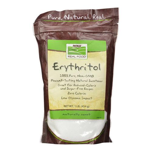 Now Foods Erythritol 100% Natural Sweetner, 1 Lb