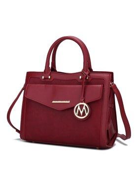 MKF Collection Alyssa satchel - Wine