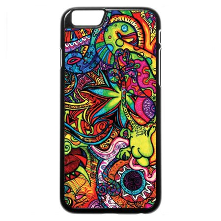 Trippy Colorful Wallpaper iPhone 5 Case (Iphone 5 Halloween Wallpapers)