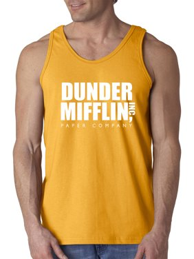 c8ba1e37cc9e36 Product Image New Way 872 - Men s Tank-Top Dunder Mifflin Inc Paper Company  Office Logo XL