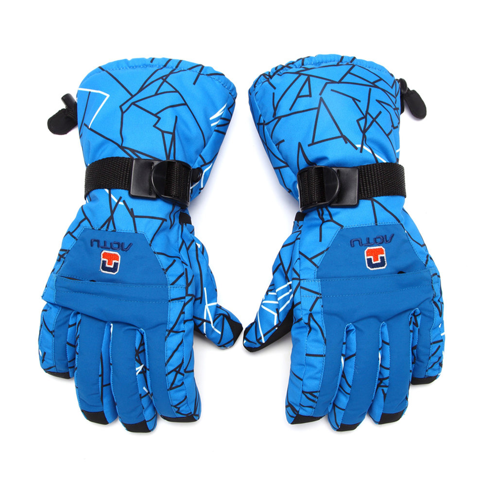 OUTAD Windproof Waterproof Winter Ski Gloves Men Winter Snow Skiing Cycling Cycle Gloves Outdoor Sports Thermal Guantes by Everybest