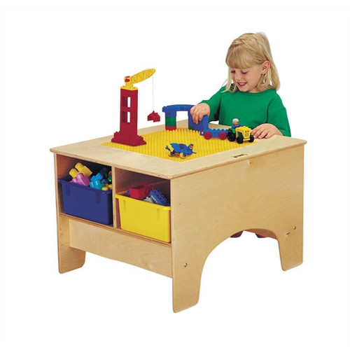 JonTi CrafT KYDZ Building Table - Lego  Compatible with Tubs