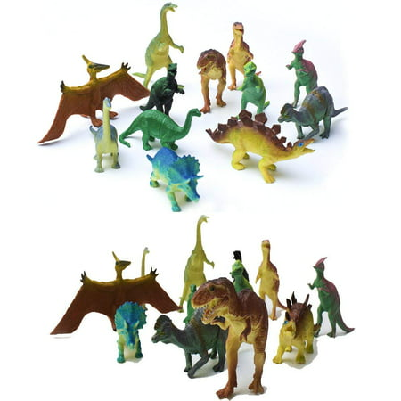 AU191 12 Pcs Dinosaur Toy, Plastic Dinosaurs, Jumbo Dinosaurs, Dinosaur Toys For Kids for Dinosaur Themed Party, birthday, Christmas, Halloween, and Easter Eggs -.., By Fun Central](Halloween 5 Opening Theme)