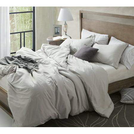 BYB Duvet Cover Silver Birch Supersoft Bedding ()