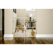 Carlson Pet Products Big Tuffy Expandable Gate with Pet Door