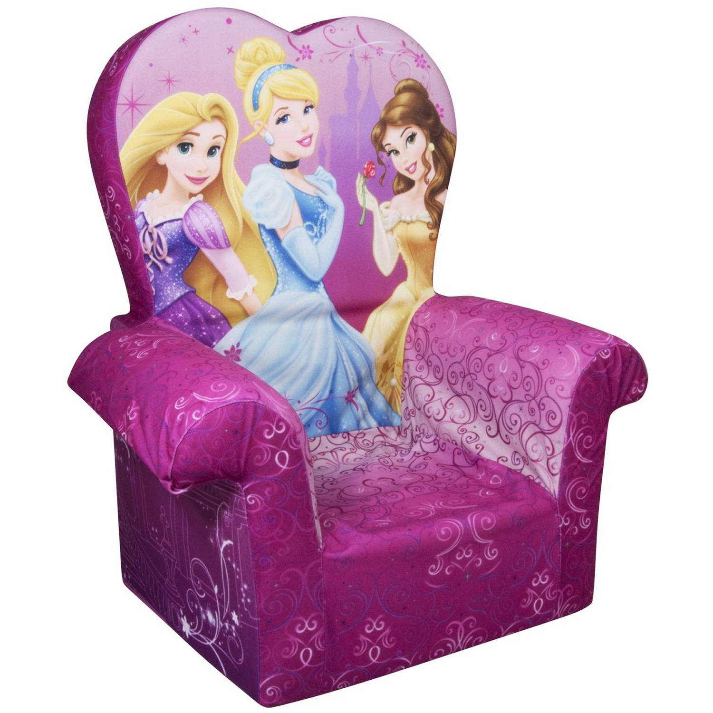 Marshmallow High Back Chair, Disney Princess