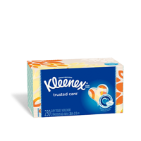 Kleenex Trusted Care Facial Tissues - Tissue for Everyday Care - 230 Tissues per Box (6 Boxes)
