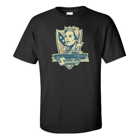 Gusta Shirt - Speedway Guest Artist James Owens '57 Nomad 65th Anniversary T-Shirt