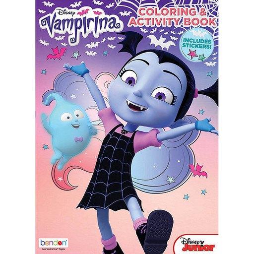 Bendon Disney Junior Vampirina 32-Page Coloring and Activity Book