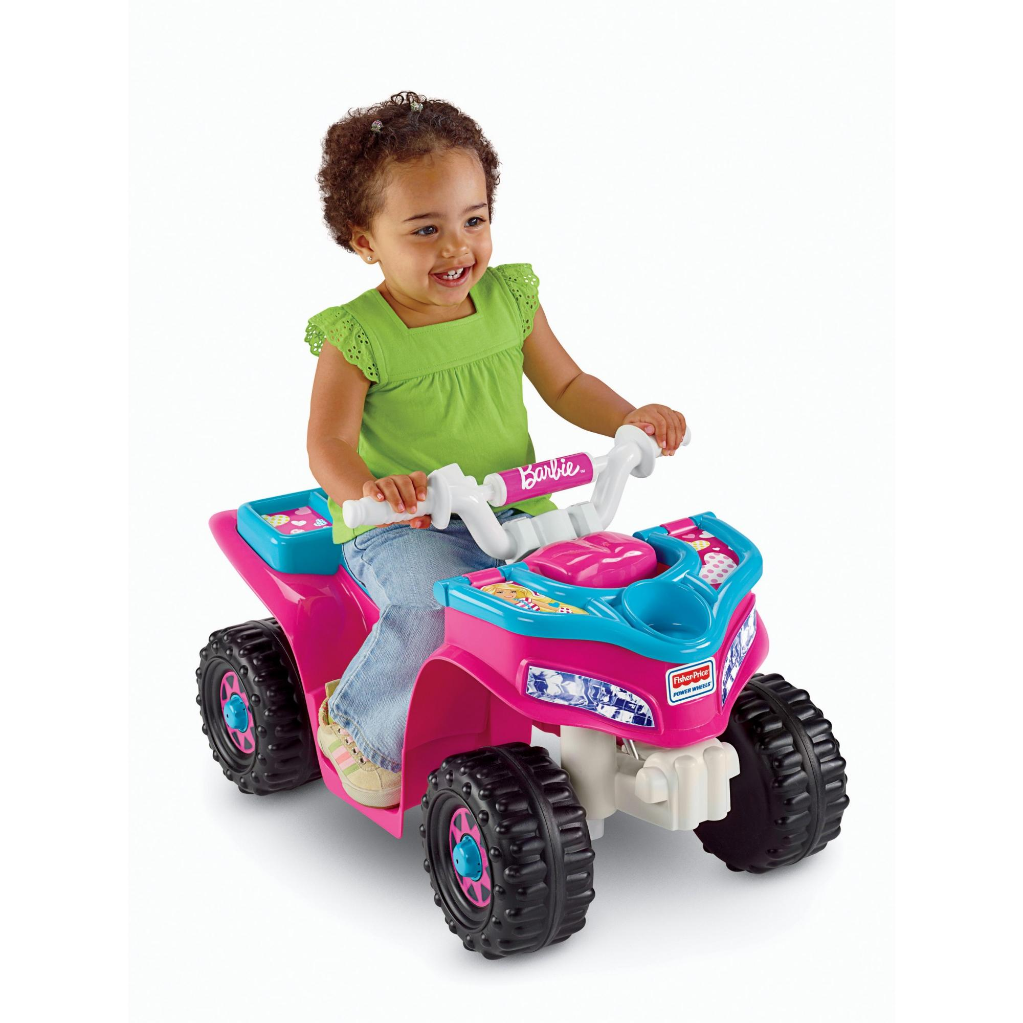 Fisher Price Power Wheels Barbie Lil Qua