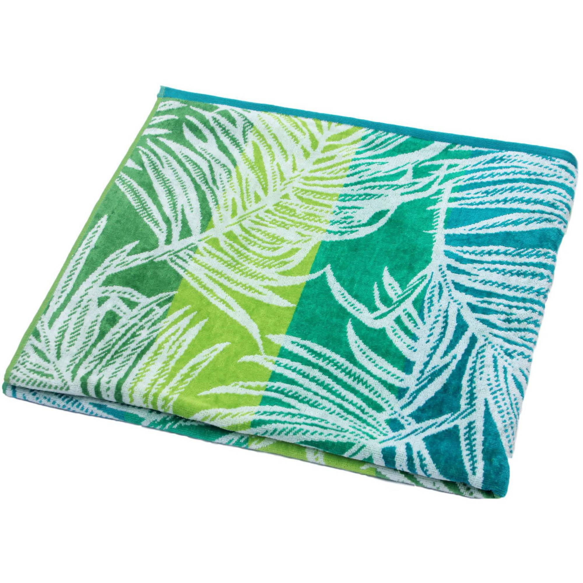 Better Homes and Gardens Palm Fronds Oversized Beach Towel