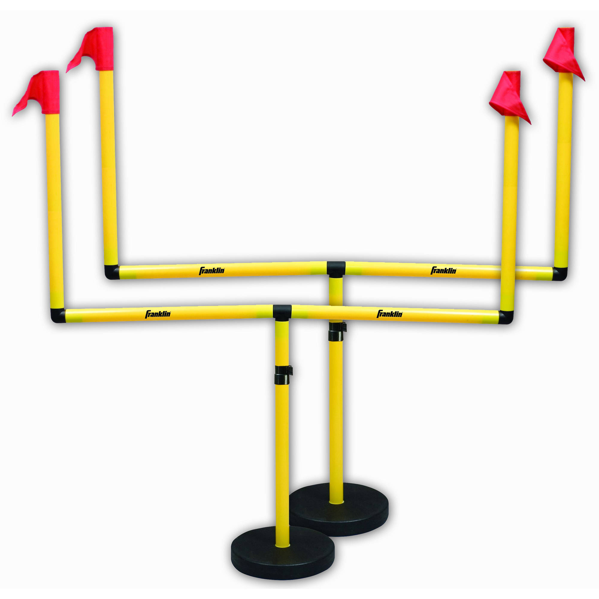 Franklin Sports 2 Goal Adjustable Football Post Set by Franklin Sports