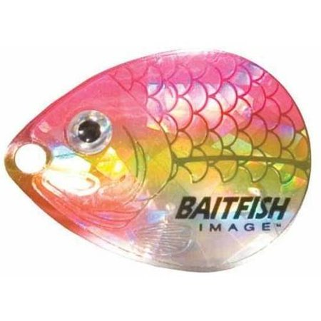 Northland Fishing Tackle Baitfish-Image Colorado Blades, #3 Yellow Perch