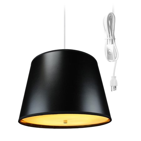 Home Concept Inc Swag 2 Light Drum Pendant Drum Pendant Bulb Type