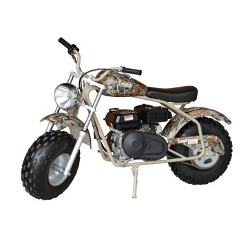 Coleman Powersports 200cc Gas Powered Camo Ride-On Mini Bike