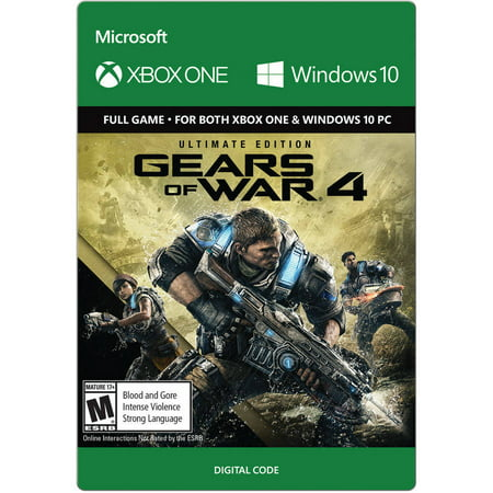 Gears Of War 4 Ultimate Edition, Microsoft, Xbox One (Email