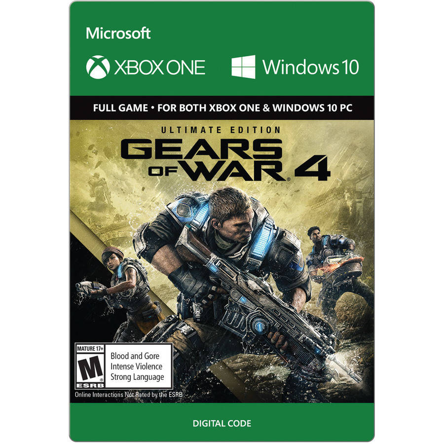 Gears Of War 4 Ultimate Edition, Microsoft, Xbox One (Email Delivery)