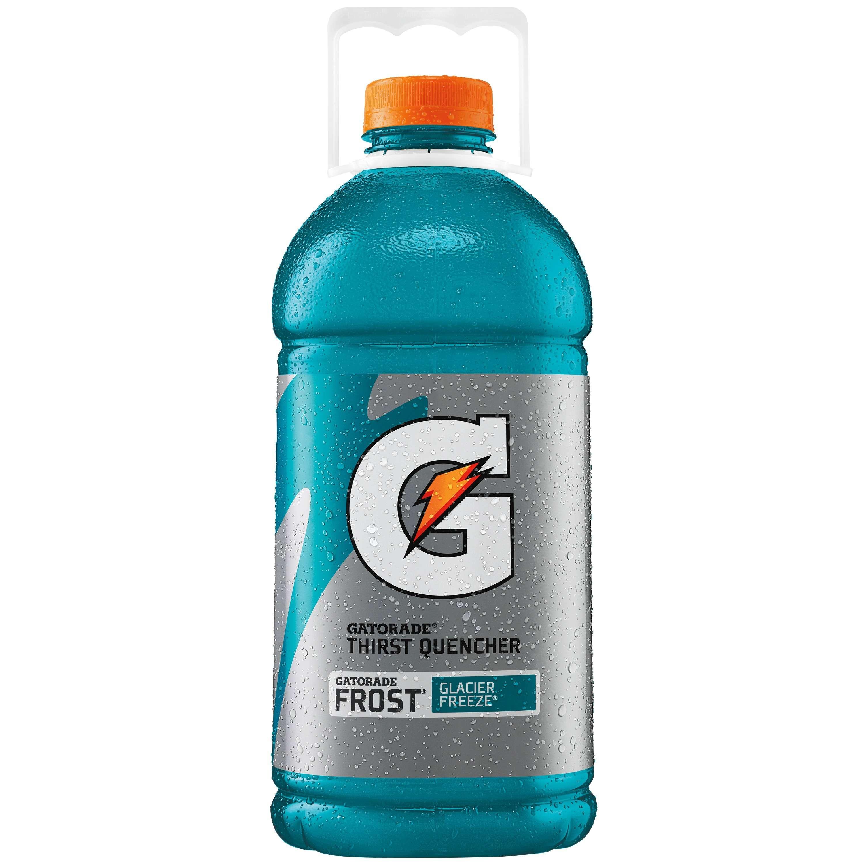 Gatorade Thirst Quencher, Frost Glacier Freeze, 128 fl oz Bottle