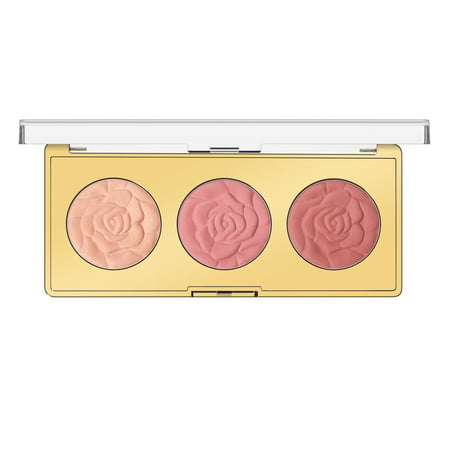 MILANI Rose Blush Trio Palette, Flowers Of Love (Best Blush Palette 2019)