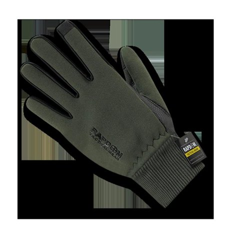 Rapid Dominance T45 Pl Od 02 Neoprene Gloves With Cuff  Olive Drab   Medium