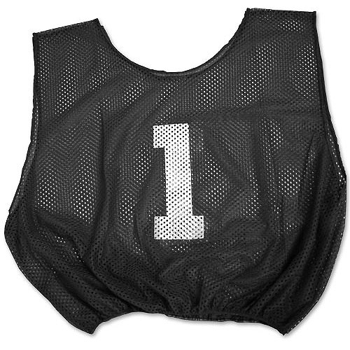 Adult-Sized Lightweight Number Scrimmage Vest
