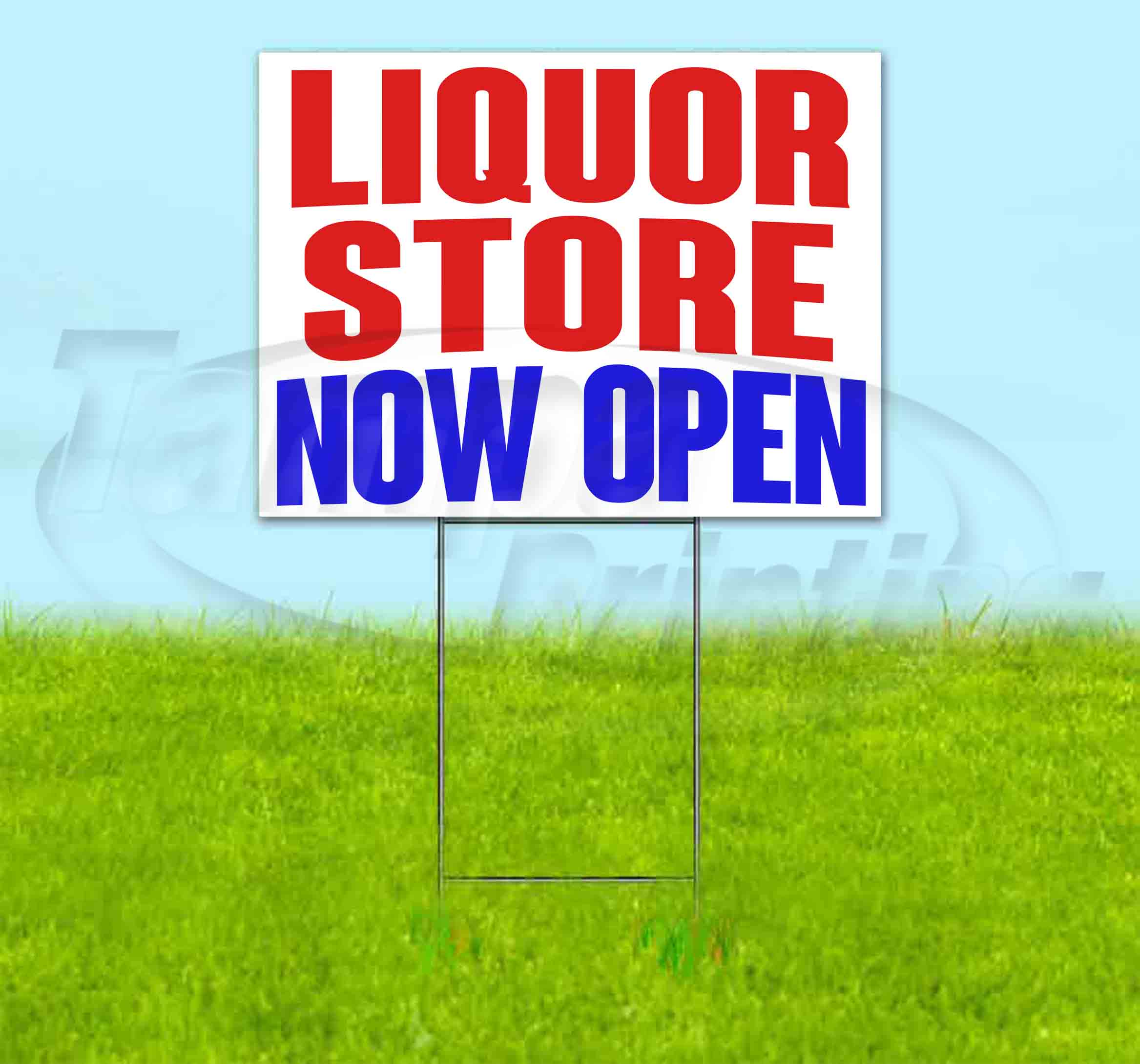We Are Open 18x24 inches Small Business Lawn Signs Local Shops Yard Signs