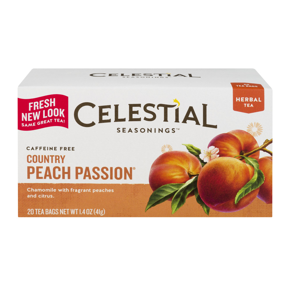 Celestial Tea Country Peach Passion 20 CT by The Hain Celestial Group, Inc.