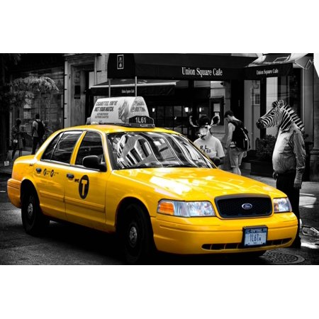 Safari CityPop Collection - NYC Union Square II Print Wall Art By Philippe Hugonnard