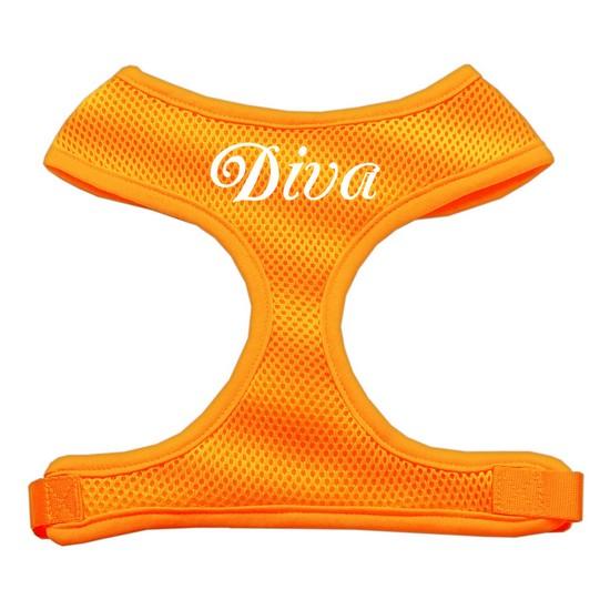 Mirage 70-10 SMOR Diva Design Soft Mesh Dog Harness Orange Small
