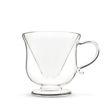 glass drinking glasses, Mar-tea-ni Double Wall funny cute best drinking