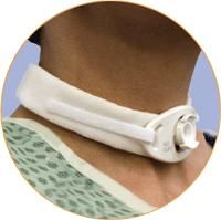 Universal Fit Adult Tracheostomy Collars  ''19 Neck Size, 1 Count''