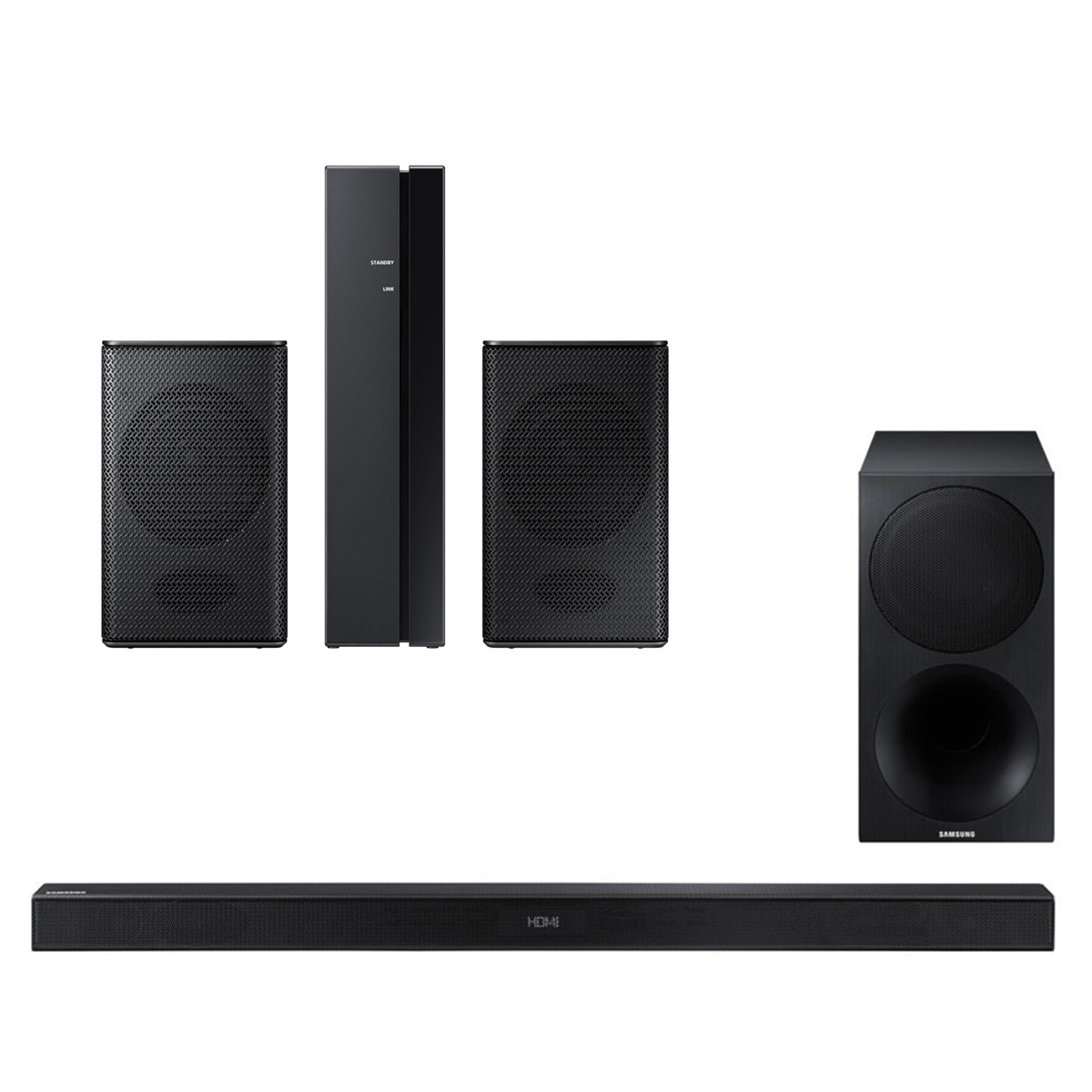 Samsung HW-M450 320W 2.1 Channel Soundbar with Wireless Subwoofer and SWA-8500S Wireless Rear Speakers Kit