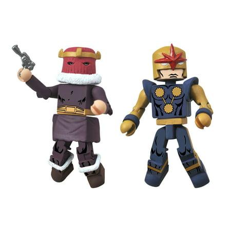 Marvel Mini Mates 2-pack : Baron Zemo I & Nova Corps Centurion