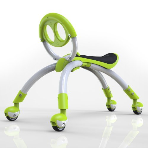 YBike Pewi Walking Buddy Riding Push Toy - Lime Green