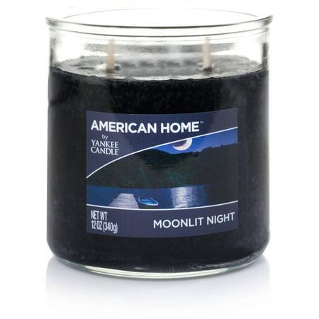 American Home by Yankee Candle Moonlit Night, 12 oz Medium 2-Wick Tumbler